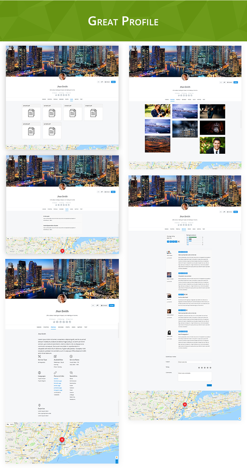 Final User - WP Front-end User Profiles - 5